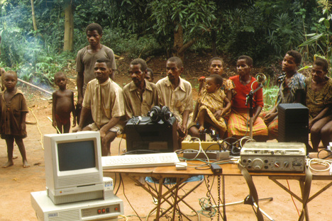 Experimental ethnomusicology with the Aka (Central Africa)